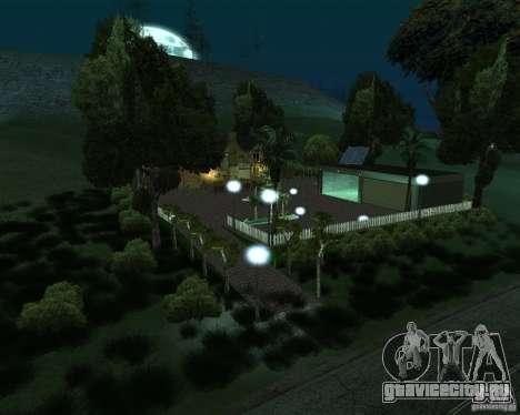 Новая Вилла для CJ для GTA San Andreas второй скриншот