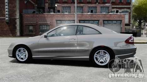 Mercedes-Benz CLK 55 AMG Stock для GTA 4 вид слева