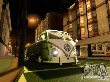 Volkswagen Type 2 Single Cab Rat для GTA San Andreas вид сверху