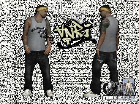 Gagns skinpack by AnRi для GTA San Andreas второй скриншот