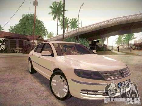 Volkswagen Phaeton 2011 для GTA San Andreas вид справа