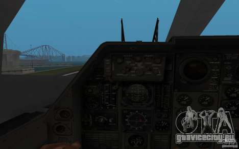 B1-B LANCER для GTA San Andreas вид сзади слева