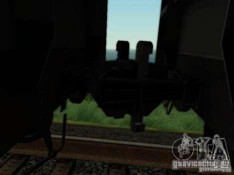 Крытый вагон для GTA San Andreas вид сзади