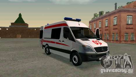 Mercedes-Benz Sprinter Реанимация для GTA San Andreas
