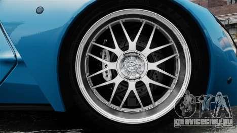 Marussia B2 для GTA 4 вид сзади