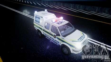 Nissan Frontier Essex Police Unit для GTA 4 вид сверху