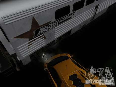 Crazy Trains MOD для GTA San Andreas четвёртый скриншот