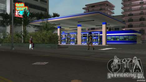 Aral Tankstelle Mod для GTA Vice City
