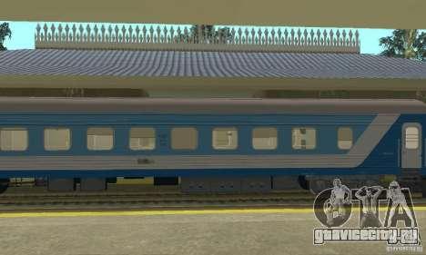Купейный вагон 61-779 для GTA San Andreas вид слева