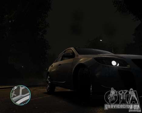 Vauxhall Insignia v1.0 для GTA 4 вид сзади слева