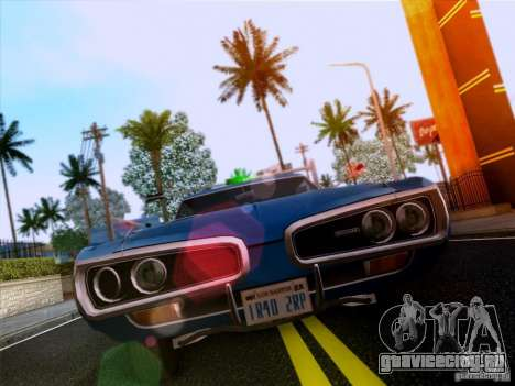 Dodge Coronet Super Bee v2 для GTA San Andreas вид слева