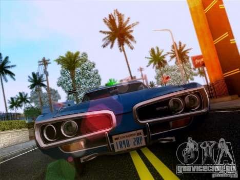 Dodge Coronet Super Bee v2 для GTA San Andreas вид слева