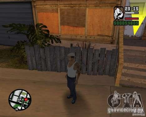 Cj Гопник для GTA San Andreas четвёртый скриншот