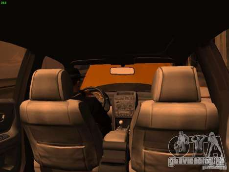 Lexus IS300 Taxi для GTA San Andreas вид сбоку