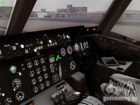 McDonell Douglas DC-10-30 British Airways для GTA San Andreas вид сзади