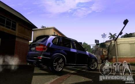 BMW X5M  2011 для GTA San Andreas вид справа