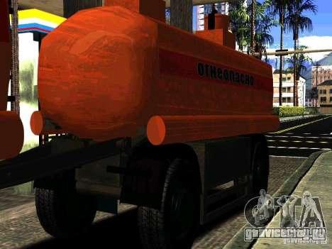 МАЗ 533702 Бензовоз для GTA San Andreas вид сбоку