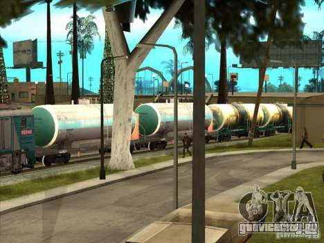 Цистерна №57929572 для GTA San Andreas вид сзади слева