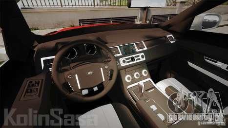Range Rover Evoque для GTA 4 вид сзади