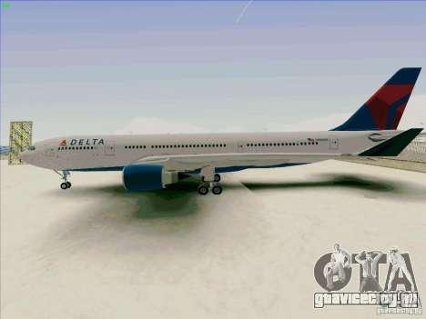 Airbus A330-200 для GTA San Andreas вид слева