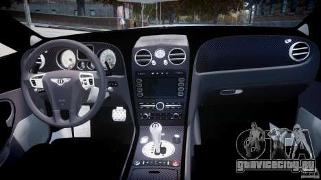 Bentley Continental SS 2010 ASI Gold [EPM] для GTA 4 вид справа