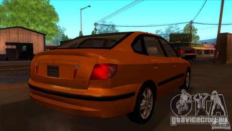 Hyundai Elantra для GTA San Andreas вид справа