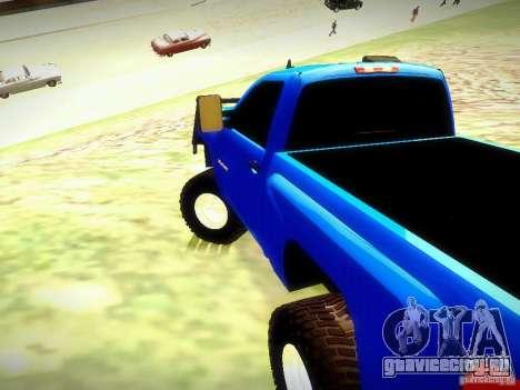 Chevrolet Silverado OFFRoad для GTA San Andreas вид слева