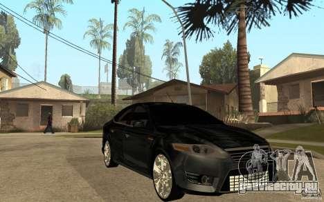 Ford Mondeo 2009 для GTA San Andreas вид сзади
