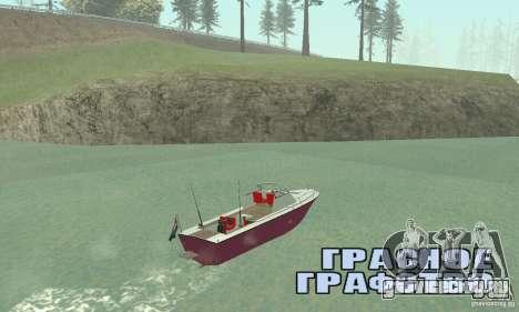 Sports Fishing Boat для GTA San Andreas вид слева