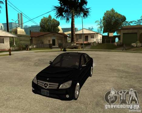 Mercedes Benz C350 W204 Avantgarde для GTA San Andreas