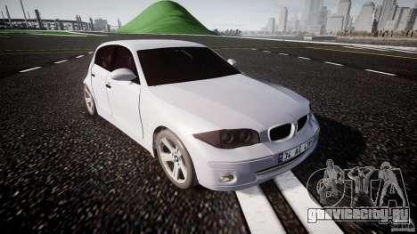 BMW 118i для GTA 4 вид изнутри