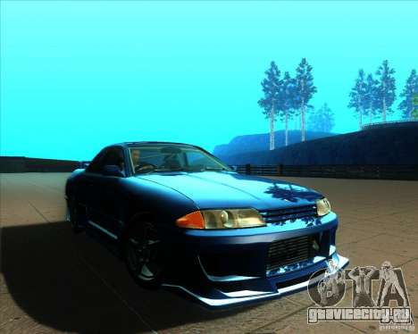 Nissan Skyline GT-R R32 1993 Tunable для GTA San Andreas колёса