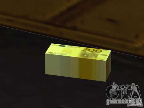 Euro money mod v 1.5 200 euros для GTA San Andreas
