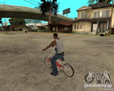 Skyway BMX для GTA San Andreas вид слева