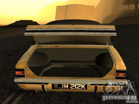 Ford Cortina MK 3 Life On Mars для GTA San Andreas вид справа