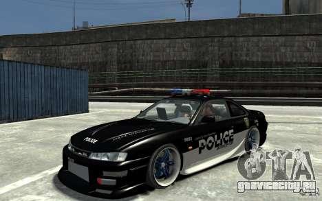 Nissan 200SX Police v0.2 для GTA 4