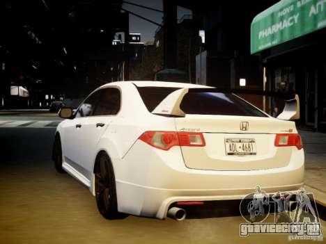 Honda Accord Mugen для GTA 4 вид изнутри