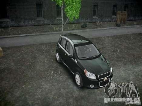 Chevrolet Aveo LT 2009 для GTA 4 вид сбоку