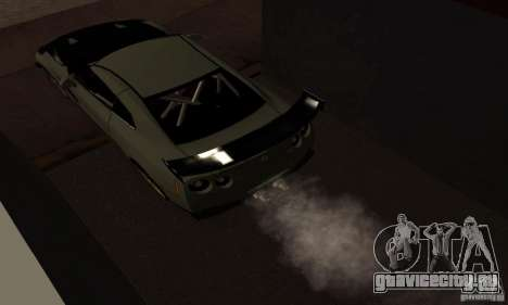 Nissan GTR R35 Tuning для GTA San Andreas вид справа
