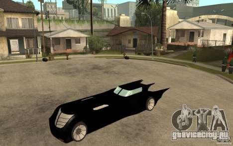 Batmobile Tas v 1.5 для GTA San Andreas