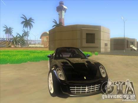 Ferrari 599 GTB Fiorano для GTA San Andreas вид сбоку