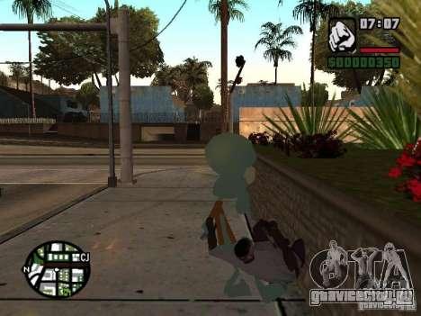 Сквидвард для GTA San Andreas шестой скриншот