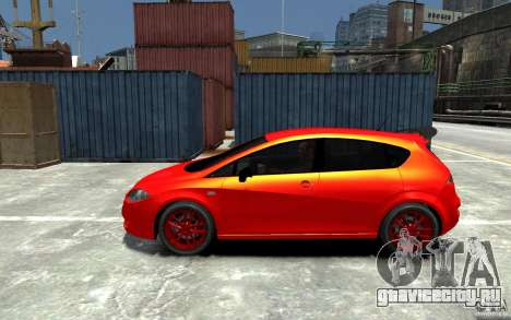 Seat Leon Cupra Light Tuning для GTA 4 вид слева