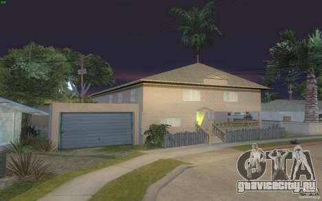 Четыре новых дома на Grove Street для GTA San Andreas третий скриншот