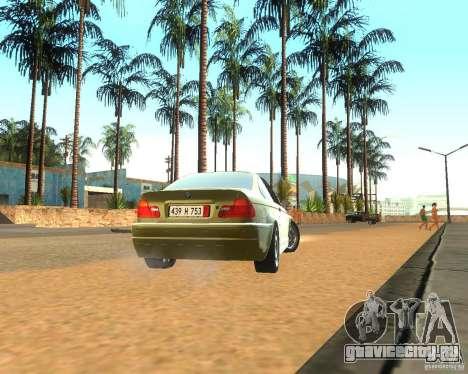 BMW 318i E46 2003 для GTA San Andreas вид справа