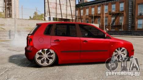 Volkswagen Polo Edit для GTA 4 вид слева