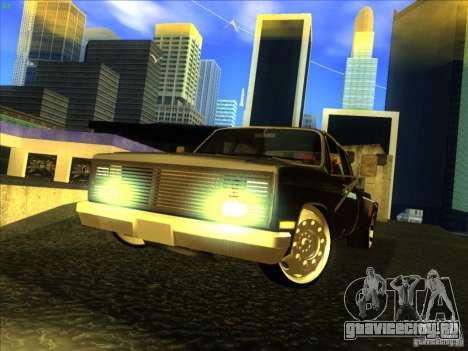 Chevrolet Silverado Towtruck для GTA San Andreas вид слева