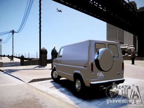 Ford E-150 1979 Short Version для GTA 4 вид сверху
