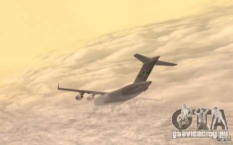 C-17 Globemaster III для GTA San Andreas вид слева