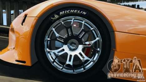 SRT Viper GTS-R 2012 v1.0 для GTA 4 вид изнутри
